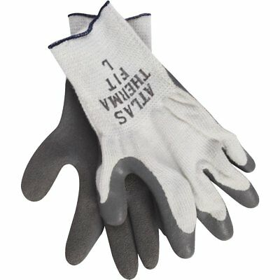 Atlas Therma-Fit Men's Large Latex-Dipped Knit LINED Glove