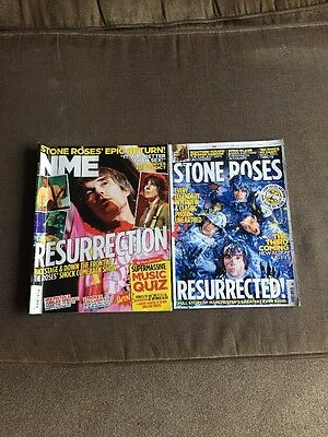 X2 Stone Roses NME Magazines From The 2012 Reunion