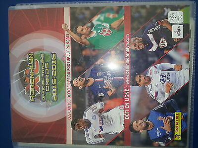 Panini Adrenalyn Xl Ligue 1 Foot 2016 Complet + Update + Classeur + 14 Limited
