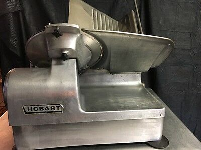 Hobart 1712 Auto 2-Speed Commercial Electric Meat Slicer-Cheese Deli Slicer 1PH