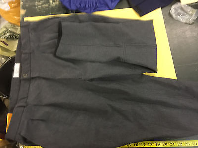 """Dublin 40"""" Grey Mens Kew Jods measurements on pictures for fit"""