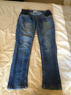 womans red herring   maternity jeans  good condition size 12