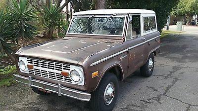 1974 Ford Bronco Sport Uncut 1974 Ford Bronco