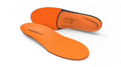 Orange Premium Insoles - Superfeet - Orthotics - Shoes Inserts Arch Support