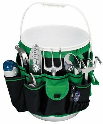 Gardening Tool Set Organizer 5 Gallon Flowers Outdoors Roses Seat Gift Home Dig