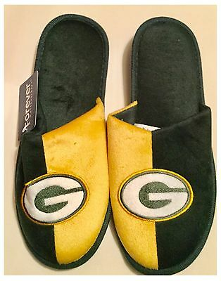 Green Bay Packers NFL Logo Slippers
