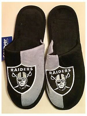 Oakland Raiders NFL Logo Slippers