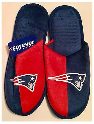 New England Patriots NFL Logo Slippers