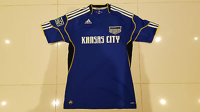 Men's Adidas Kansas City Wizards Football Soccer Shirt Top Jersey M
