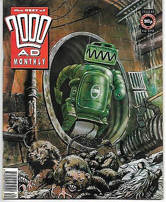 Best of 2000 AD Monthly #83 (1992) RoBusters + Alan Moore's Skizz (Part 2 of 2)