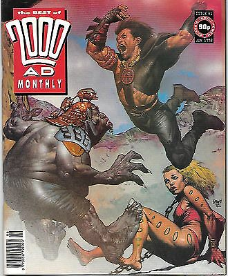 Best of 2000 AD Monthly #81 (1992) Slaine the King by Mills & Fabry