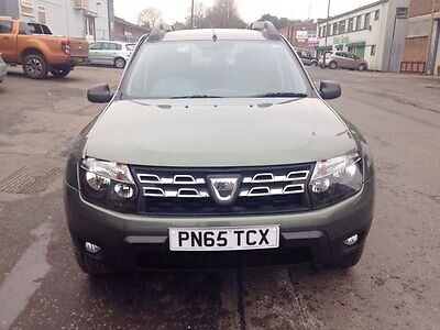 2015 65 Reg DACIA DUSTER 4x4 DCI 1.5 DIESEL AMBIANCE DAMAGED REPAIRABLE SALVAGE