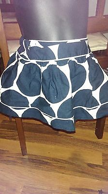 Girls spotty blue & white skirt from Next size 6-9 months