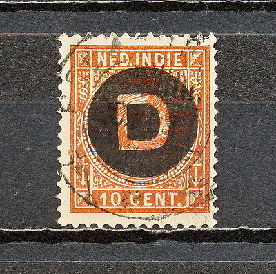 Nnbm 343 Netherlands Indies Official 1911 Used
