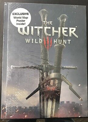 The Witcher 3 Strategy Guide Sealed G
