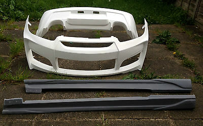 Hyundai Coupe Siii 2007 - 2009 Body Kit Nef Style Front Bumper & Rear + Sides