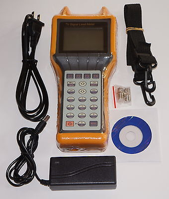 Ry-S200D Catv Cable Testing Tv Signal Level Meter Mer Ber Tester 5-870Mhz New!