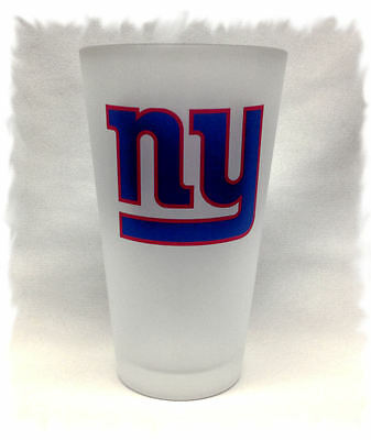 New York Giants Pint Beer Glass