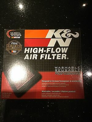 ford Focus ST 225 K&N Panel Air Filter Induction Kit