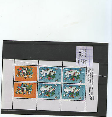 Timbre PAYS-BAS / NETHERLANDS Stamp - Yvert et Tellier Bloc n°25 n** (Y5)