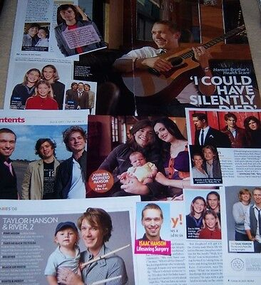 Hanson 16 pc Clippings Collection Zac Taylor Isaac