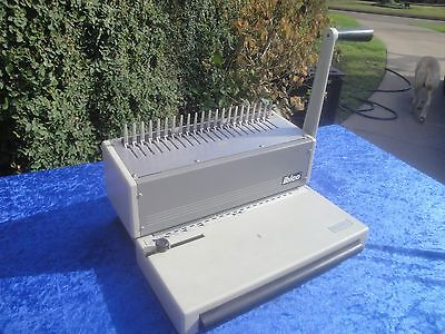 Ibico Ibimatic Heavy Duty Steel Comb Binder And Punch Machine Home Office Mint
