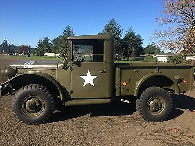 1951 DODGE M37 Power Wagon Metal hard top 318 4x4 4sp NO RESERVE