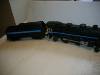 lionel 247 batimore and ohio 2-4-2 engine and and tender 1959 with instructions