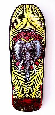 Signed Mike Vallely Public Domain NOS Skateboard Deck Powell Peralta Santa Cruz