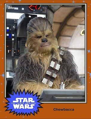 ??? MYSTERY VARIANT CHEWBACCA Topps Star Wars Card Trader Digital Card