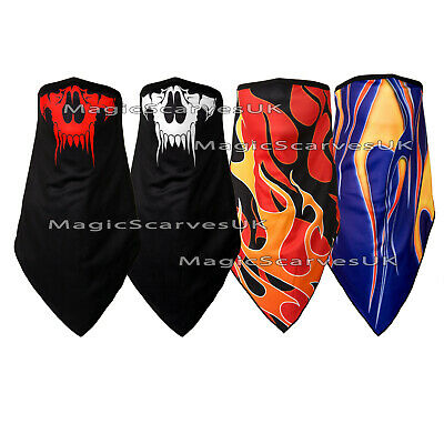 Motorcycle Fleece  Neck Warmer Tube Biker Snood Scarf Face Mask Balaclava Shield