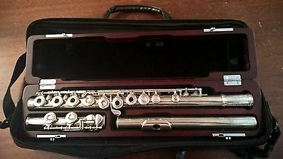 Gemeinhardt M3S Solid Sterling Silver flute with Offset G