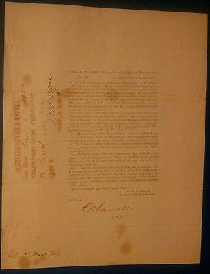 Civil War Reduction of troops Special Orders July 17, 1865