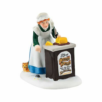 """Department 56 Dickens Village """"CHEESE SAMPLES FOR ALL"""" New 2016 FREE SHIPPING"""