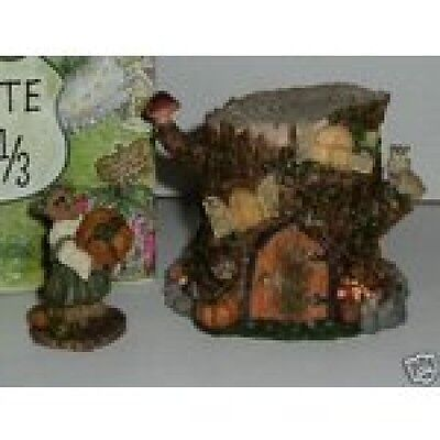 """BoydsRoute 33 1/3 Villages """"Autumn's Hollow Hideaway"""" 1E- Style19914-New-Retired"""