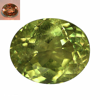 3.30Ct Attractive Oval Cut 9 x 8 mm AAA Color Change Turkish Diaspore