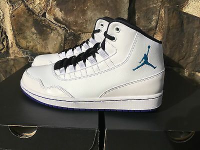 first rate d734d ec22f Nike Air Jordan Executive Men s Shoes White Blue Lagoon 820240-116 Hornets  NIB
