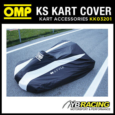 New! Kk03201 Omp Ks Waterproof Kart Cover Modern Omp K-Style Design Karting