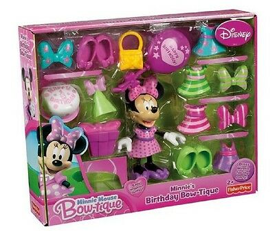 Fisher Price Minnie Mouse Birthday Bowtique **BRAND NEW HOT SELLER LIMTD STOCK**