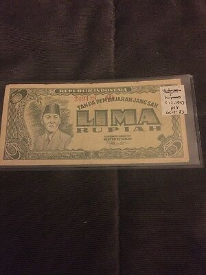 Indonesia Banknote1947 P18. #10