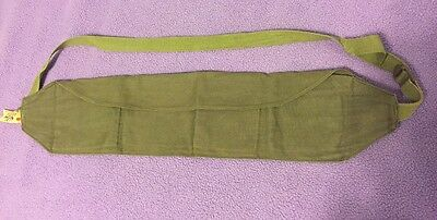 Military Style King Canvas Green MONEY Belt - Chicago