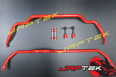 Heavy Duty Performance Front & Rear Sway Bar & Link Set For Nissan S14 S15 200sx