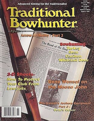 Traditional Bowhunter Magazine 1999 all  6 back issues