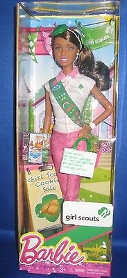 Mattel Barbie Collector Aa Barbie Girl Scouts , New Mib