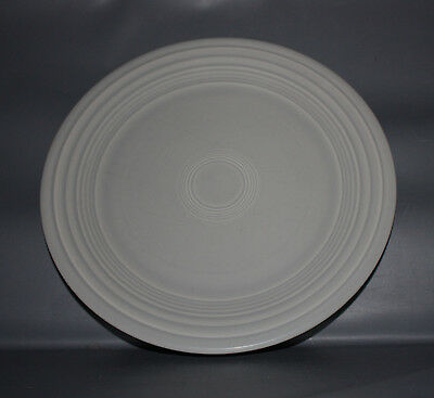 Fiesta Pearl Gray Grey 1999-2001 Retired Luncheon Lunch Plate 9 1/2 Inch