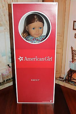 American Girl doll Emily NEW IN BOX, NO X, Never Removed From Box!