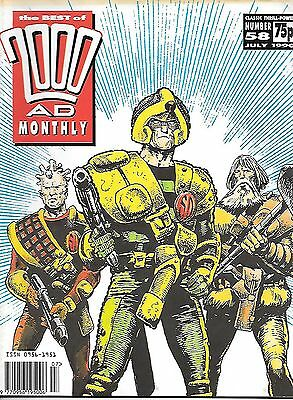 "Best of 2000 AD Monthly #58 (1990) Strontium Dog ""Outlaw"" Part 2 (of 2)"