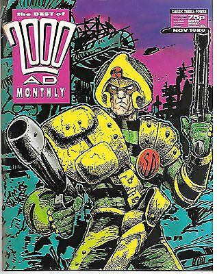 Best of 2000 AD Monthly #50 (1989) Dredd by Brian Bolland + Strontium Dog