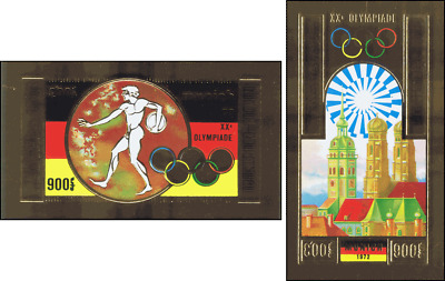 Olympic Summer Games, Munich -IMPERFORATED- (MNH)