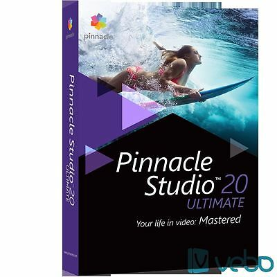 Pinnacle studio ultimate 20 - e-delivery 24H
